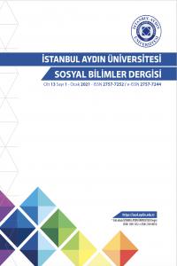 İstanbul Aydın Üniversitesi Sosyal Bilimler Dergisi