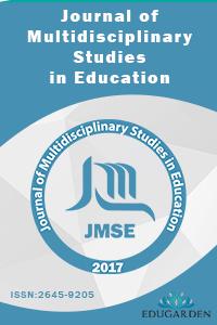 Journal of Multidisciplinary Studies in Education